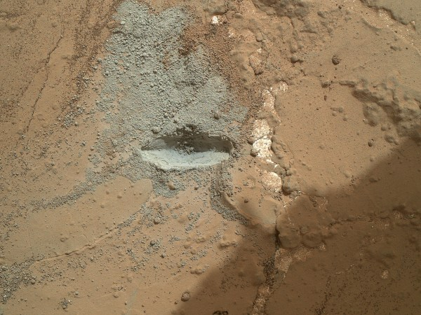 NASA - Preparatory Test for First Rock Drilling by Mars ...
