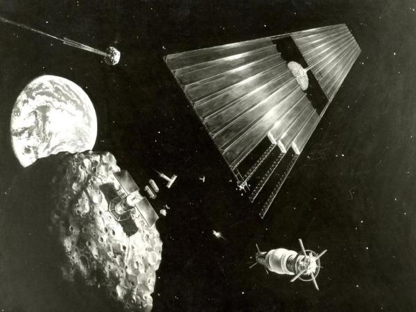 NASA - Asteroid Retrieval Artist's Concept