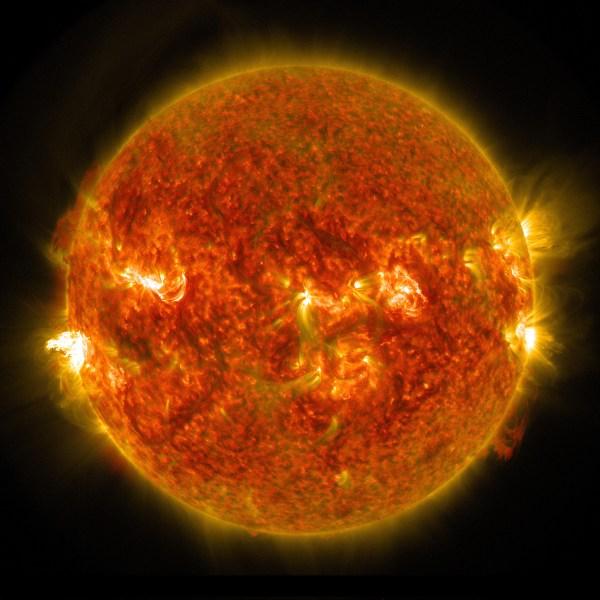 NASA Captures Images of a Late Summer Flare   NASA