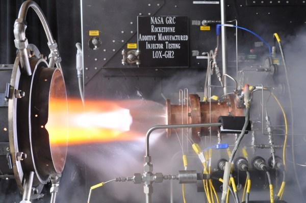 """NASA, Industry Test """"3D Printed"""" Rocket Engine Injector   NASA"""