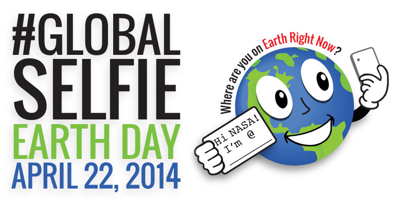 Global Selfie, Earth Day, April 22, 2014.