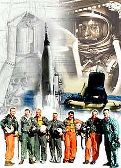 In Their Footsteps The Mercury 7 NASA