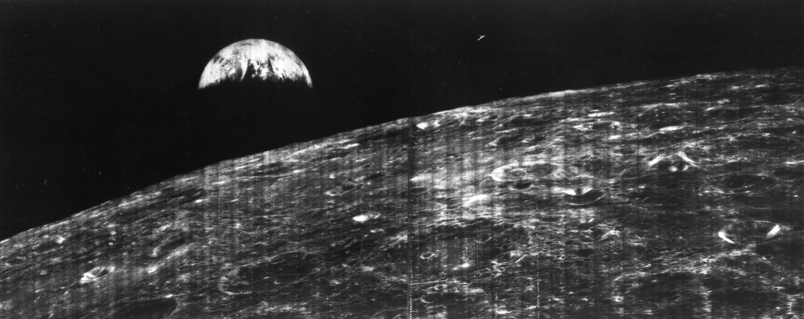 Image result for first photograph of earth from the moon