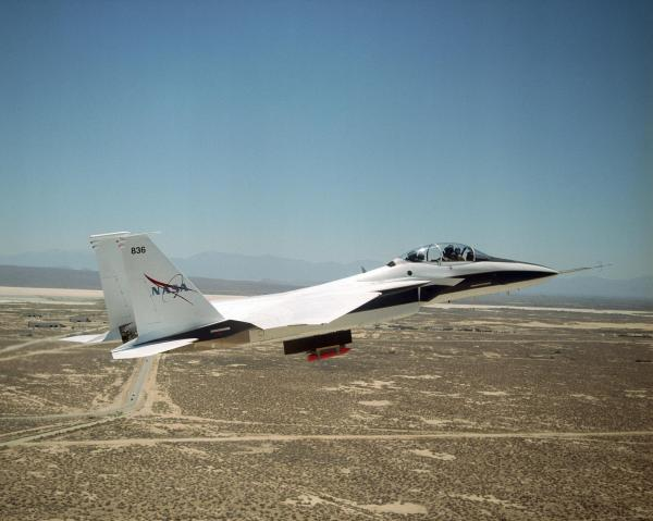 NASA Armstrong Fact Sheet F15B Aeronautics Research Test