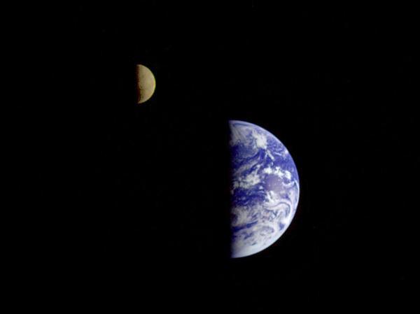 Earth and Moon   NASA