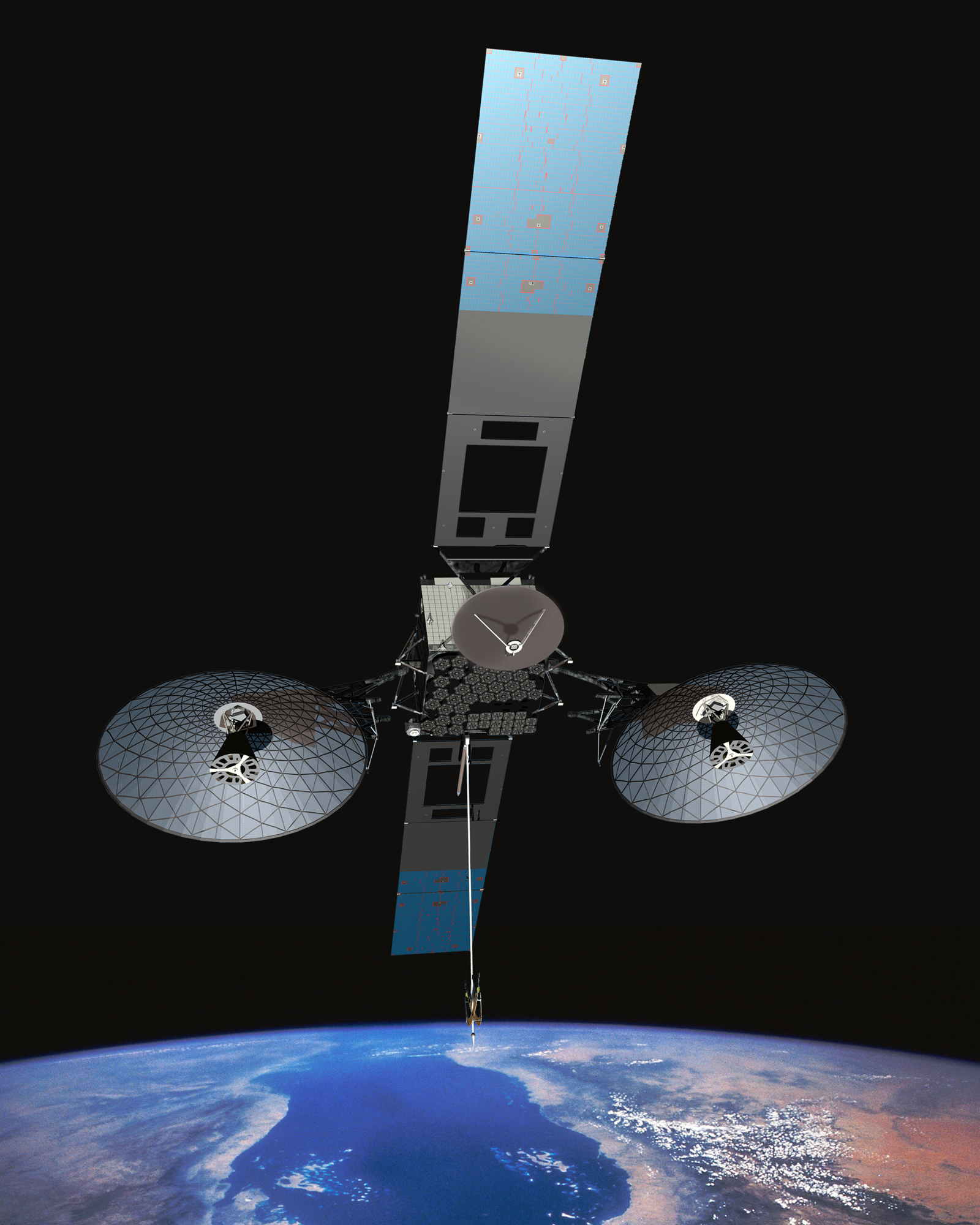 Tracking And Data Relay Satellite Tdrs First Generation