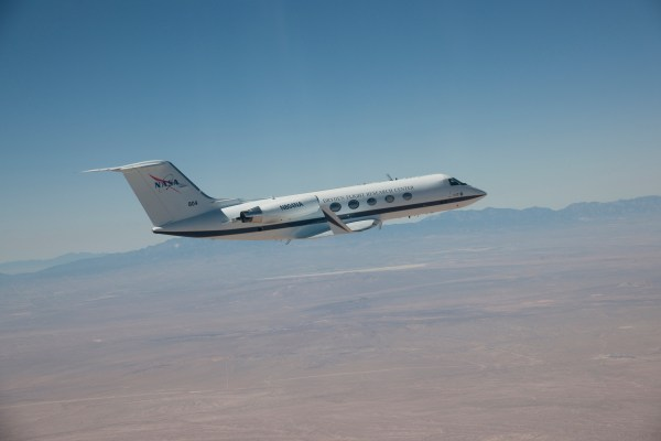 Gulfstream III Aerodynamics Research Test Bed NASA