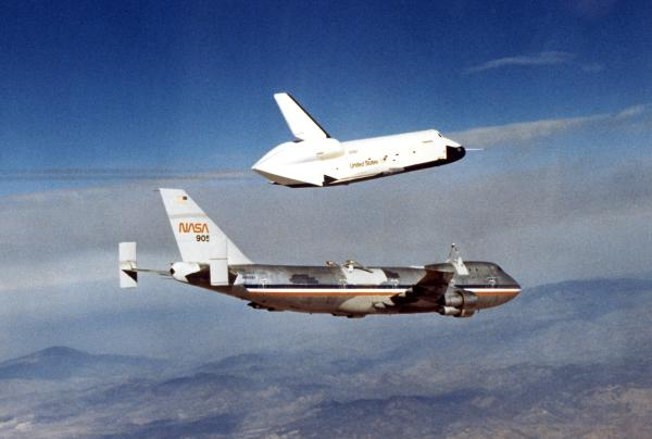 NASA's Original Shuttle Carrier Aircraft Departs Dryden | NASA
