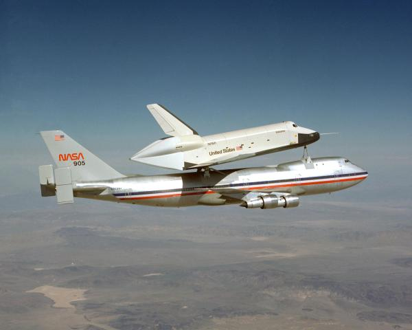 Space Shuttle Approach and Landing Tests (ALT) | NASA