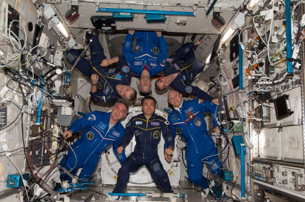 Station's Expedition 39 Crew Poses for Portrait | NASA