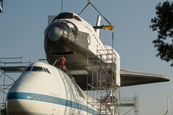Independence and Shuttle Carrier Aircraft 747 NASA