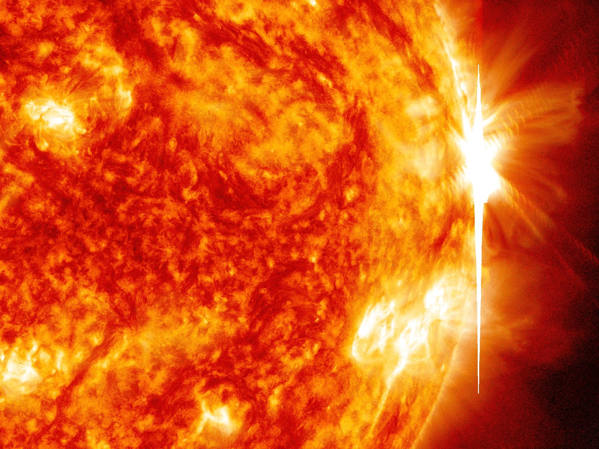 Sun Emits Fourth X Class Flare In A Week