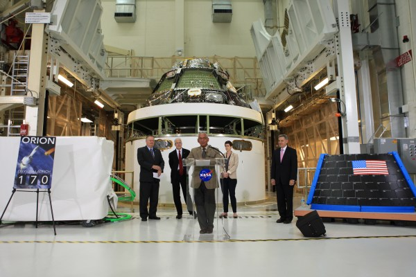 Orion Spacecraft Taking Shape for First Flight Test | NASA