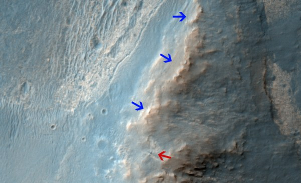 NASA Mars Orbiter Views Opportunity Rover on Ridge | NASA