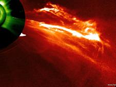 Having a Solar Blast - UPDATE   NASA