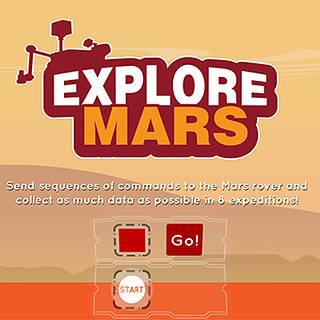 Explore Mars game