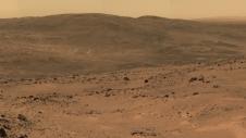NASA's Mars rover Spirit's view