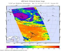AIRS image of Pam
