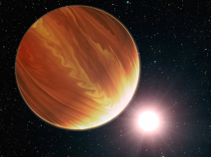 Hubble Finds Three Surprisingly Dry Exoplanets | NASA
