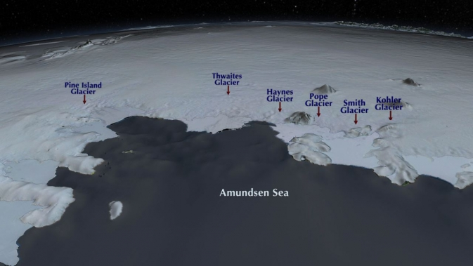 Amundsen Bay region