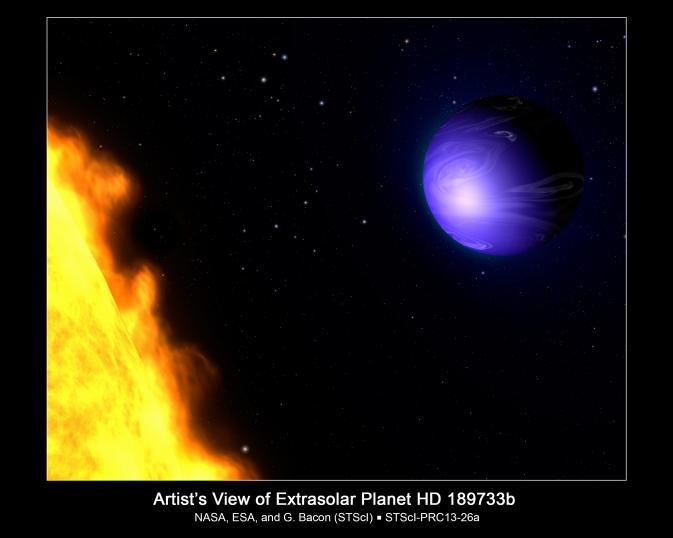 NASA Hubble Finds a True Blue Planet | NASA