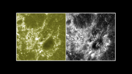 Comparison SDO and IRIS solar images