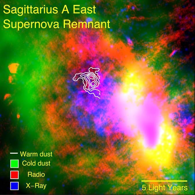 SOFIA data on a supernova