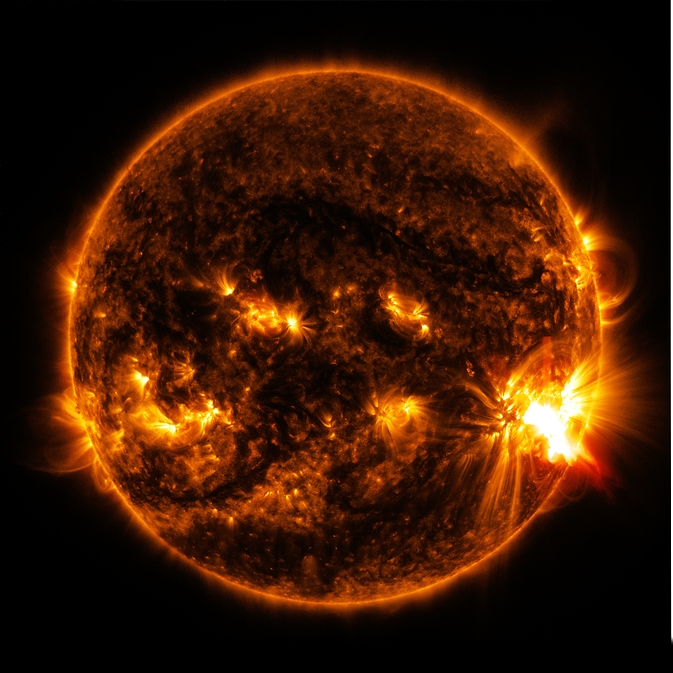 Sun releases another X2.0-class solar flare.