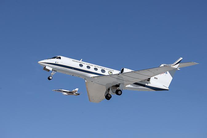 Zbor Adaptive Conformitate Trailing Edge (ACTE) din proiect aviație verde NASA.