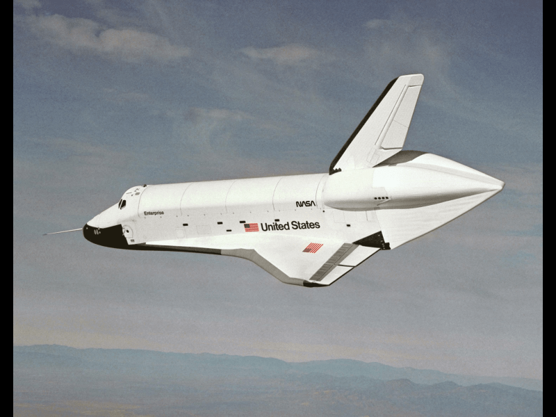 Where Are They Now Space Shuttle Prototype Enterprise NASA