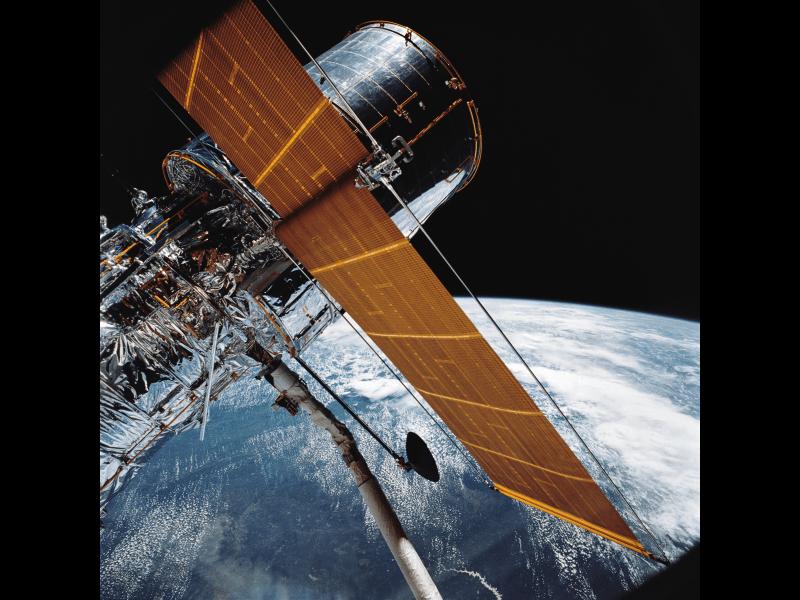 Hubble Space Telescope Reaches Orbit NASA