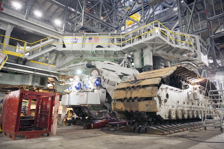 CT2 Gets a Lift NASA