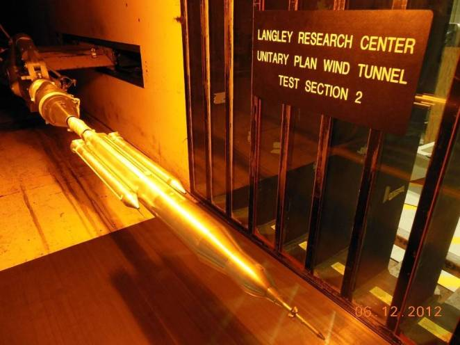 679709main Wind Tunnel Model full - On a Changing Planet, NASA Goes Green