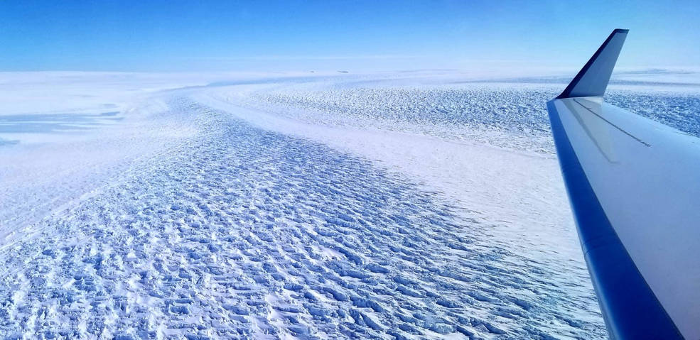 Denman Glacier in East Antarctica