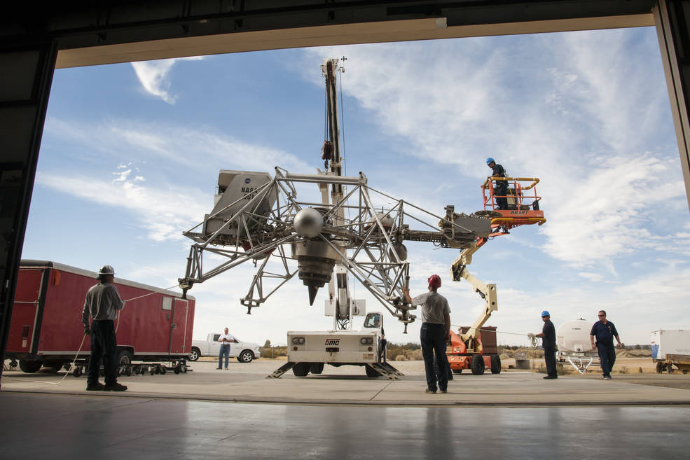 50 Years Ago: The Lunar Landing Training Vehicle | NASA