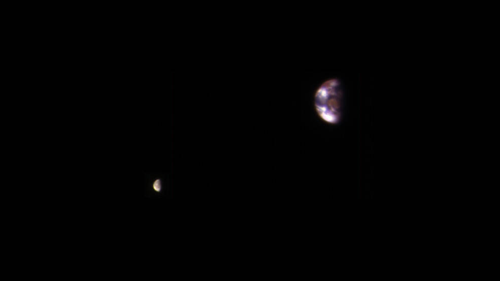 Your Home Planet as Seen From Mars NASA