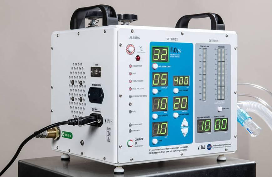 Ventilator prototype for coronavirus disease patients