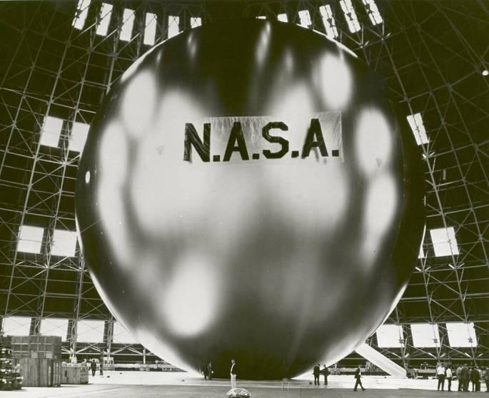 Echo II, a Balloon Satellite