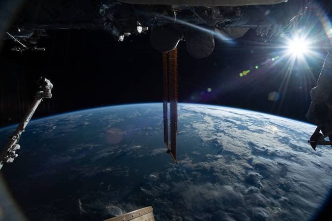Earth from the Space Station Feb. 21, 2019