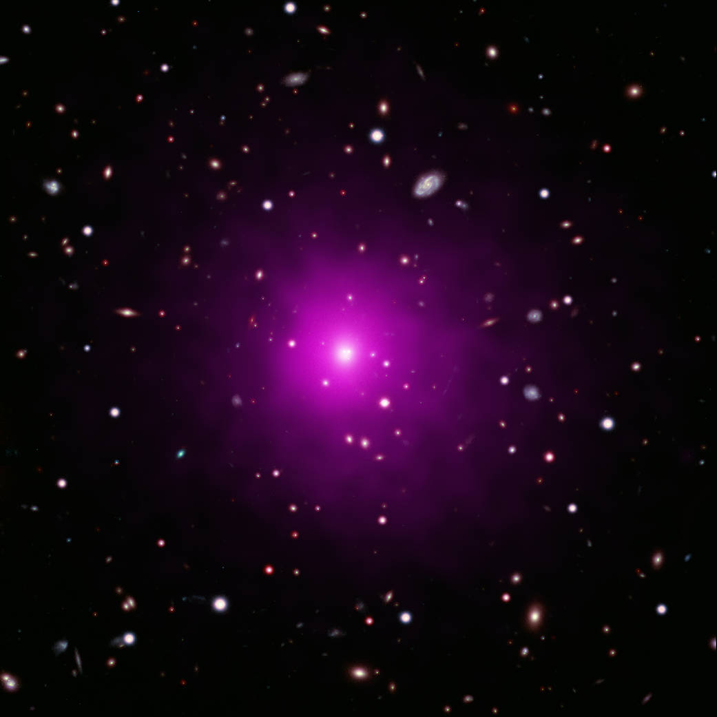 This composite image of Abell 2261.