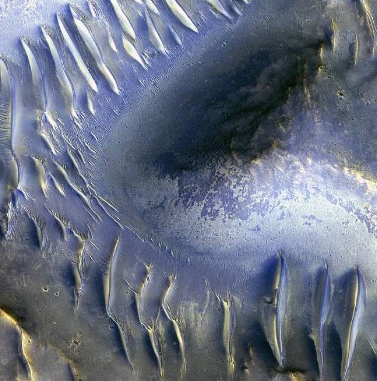 Dark Spot and Jovian 'Galaxy'