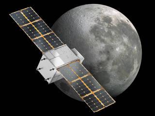 Updated illustration of NASA's CAPSTONE CubeSat