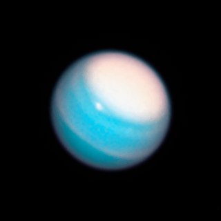 Hubble view of Uranus
