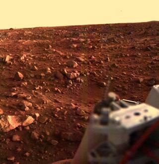 Image of Mars from Viking lander 1