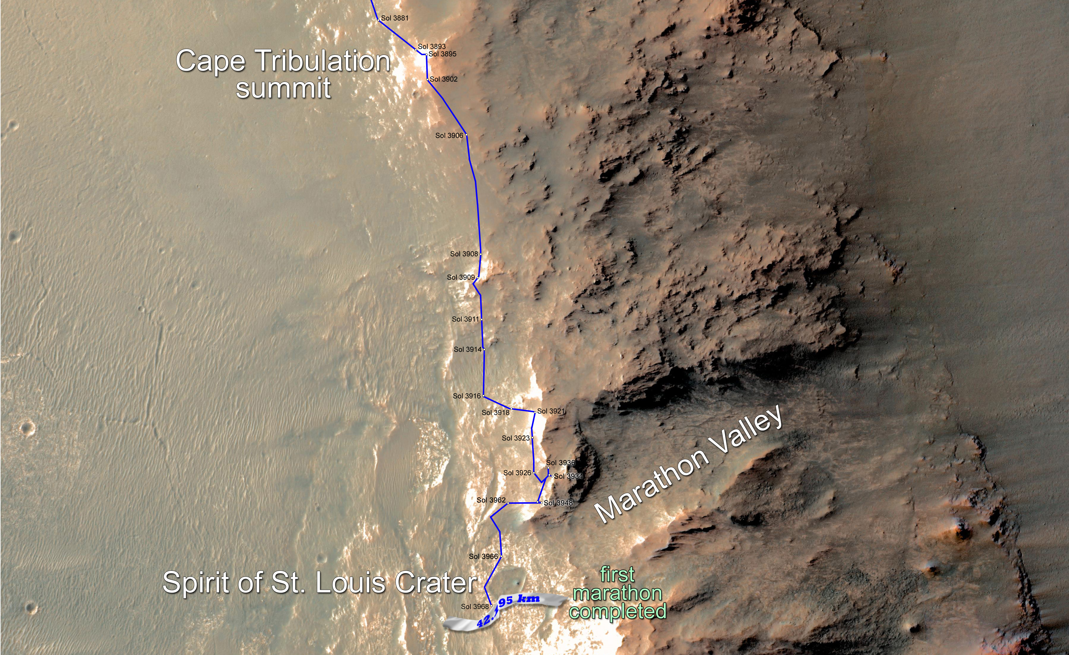 Opportunity Mars Rover Finishes Marathon in Just Over 11 Years