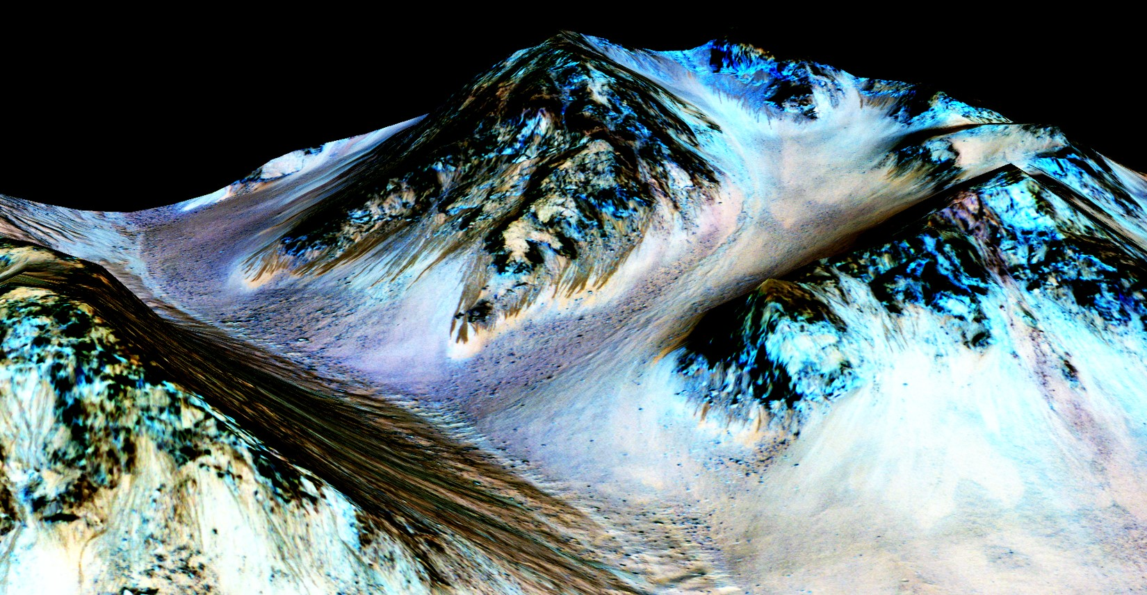 Image result for water on mars