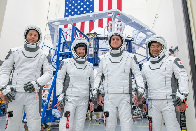 Coverage Set for NASA's SpaceX Crew-2 Briefings, Events, Broadcasts   NASA