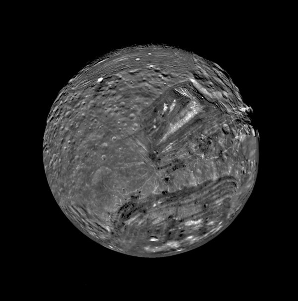 January 1986 Voyager 2 Flyby of Miranda NASA