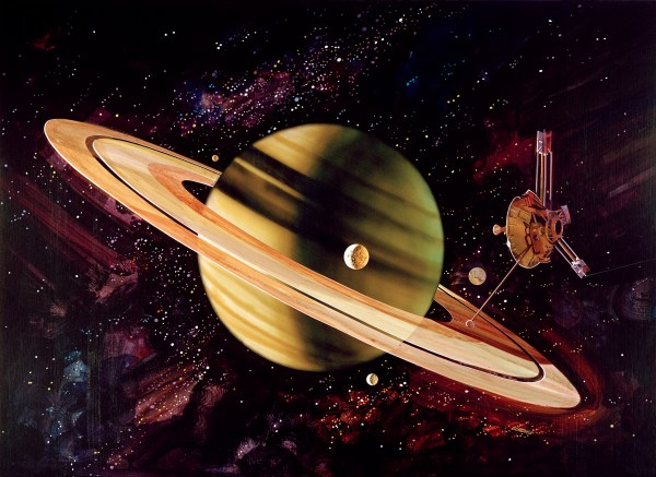 45 Years Ago, Pioneer 11 Launched in Flyby Course with ...