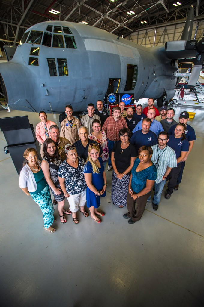 Wallops Aircraft Office Recognized As Best In The Federal Government Nasa